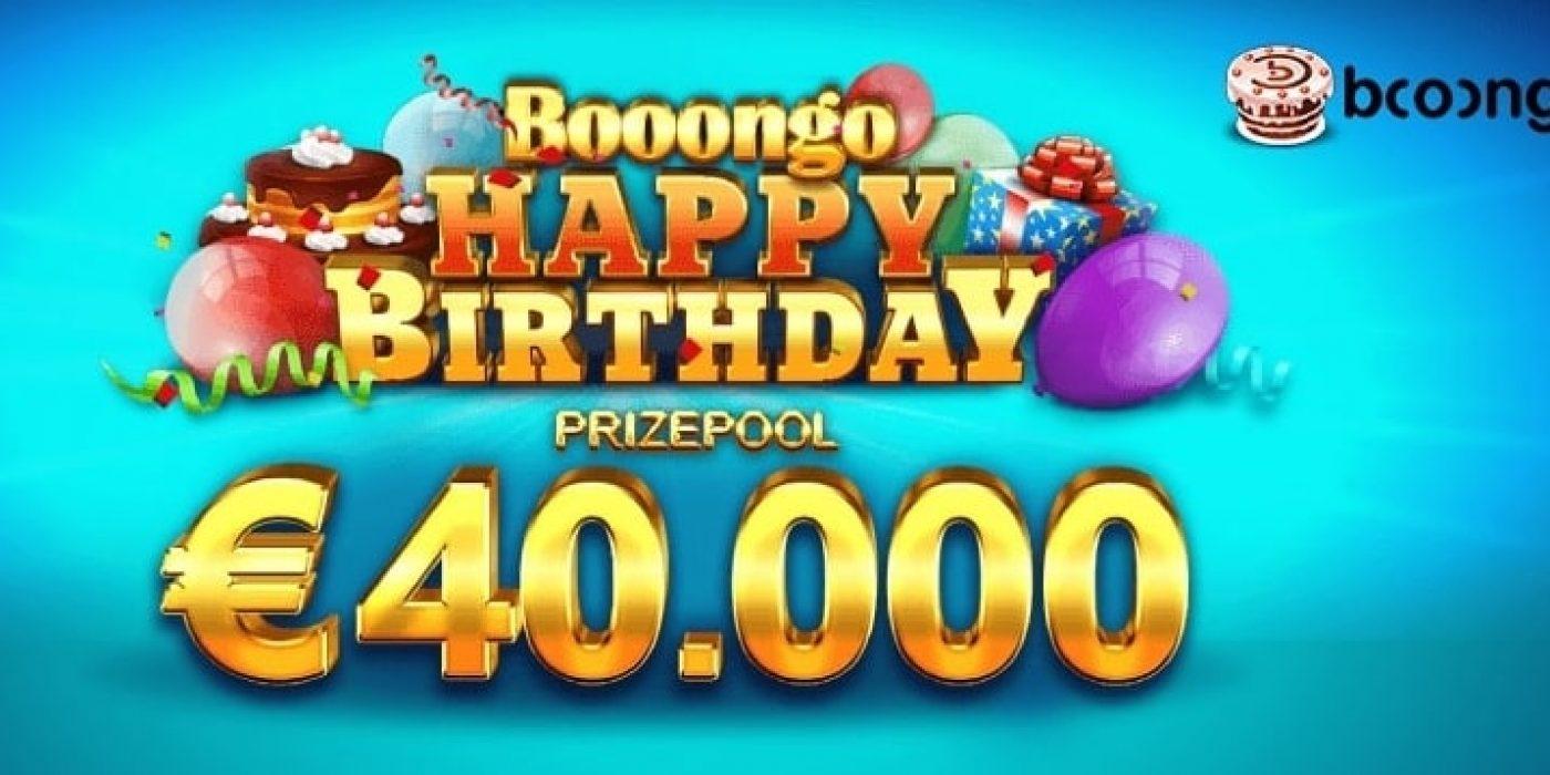 Booongo рожден ден турнир